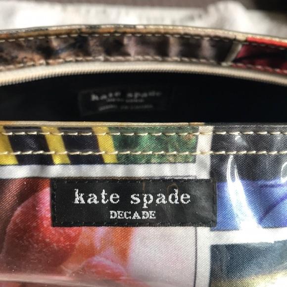 Kate Spade Handbags - Kate Spade Cosmetic Bag Decade Collection